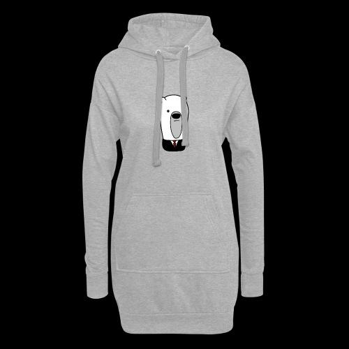 officel_polarbear_shop_logo - Hoodie-kjole