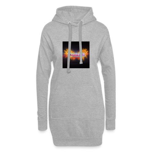 Flaming Pheonix YT - Hoodie Dress