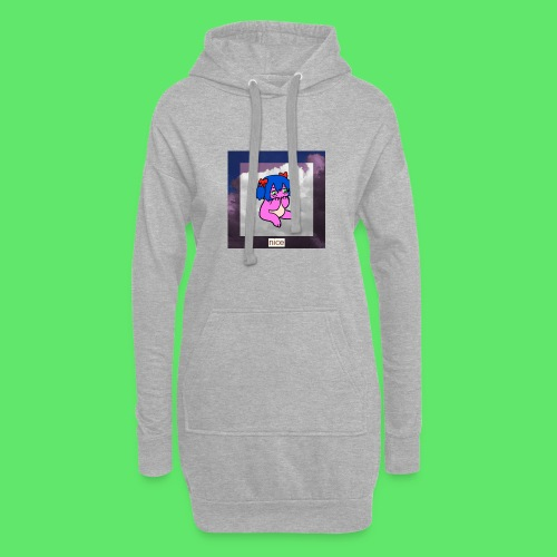 le nice girl - Hoodie Dress