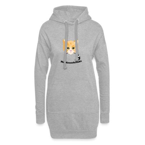 Mr Mousekillski – Katz hat eine Maus gefangen - Hoodie-Kleid