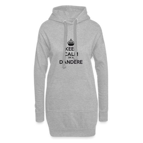 Dandere keep calm - Hoodie Dress