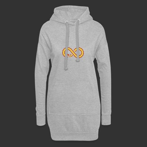 Infinity Snake - Sweat-shirt à capuche long Femme