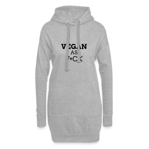 Vegan as Fuck (propre) - Sweat-shirt à capuche long Femme