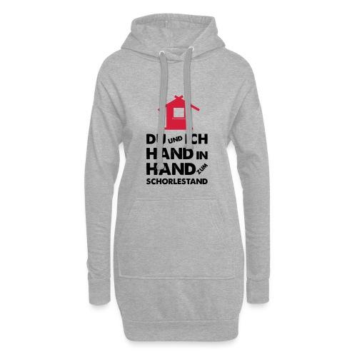 Hand in Hand zum Schorlestand / Gruppenshirt - Hoodie-Kleid