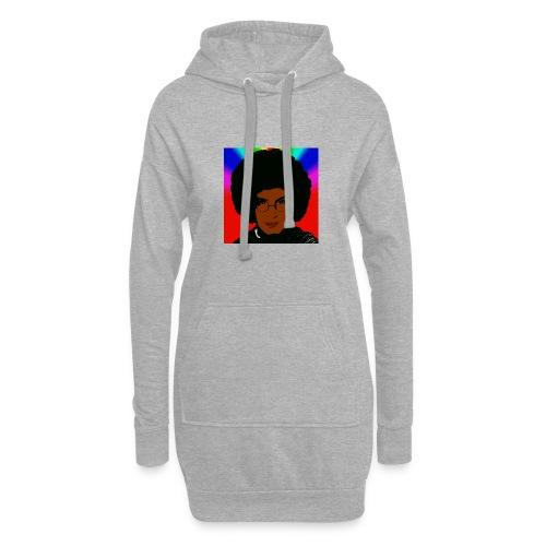 afro1 - Hoodie-Kleid
