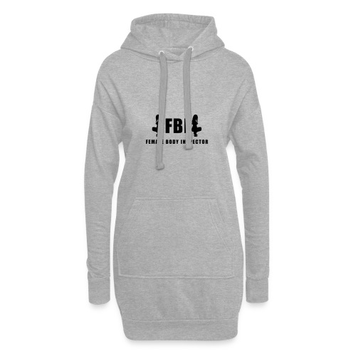 FBI - Hoodie-Kleid