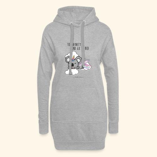 Buzz koala - Sweat-shirt à capuche long Femme