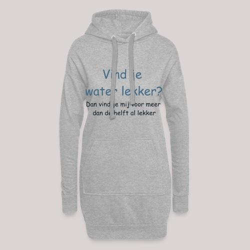 Water - Hoodiejurk