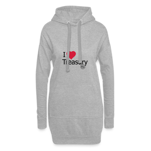 I LOVE TREASURY - Hoodie Dress
