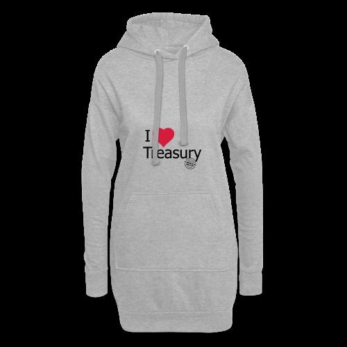 I LOVE TREASURY - Hoodie Dress