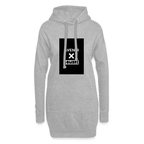 IMG_1095 - Sweat-shirt à capuche long Femme