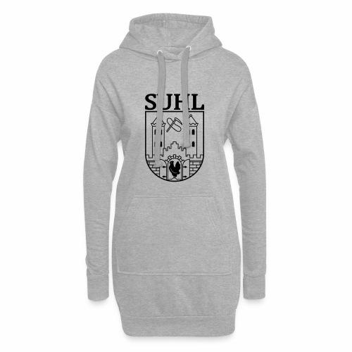 Suhl Coat of Arms (black) - Hoodie Dress