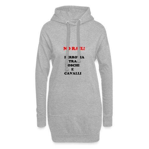 NO RAIL! - Vestitino con cappuccio