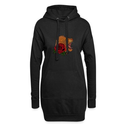 Lion - Sweat-shirt à capuche long Femme
