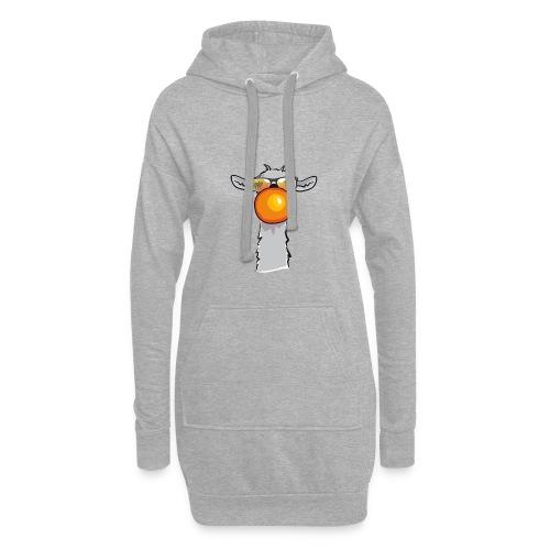 Chewing Llama - Hoodie-Kleid
