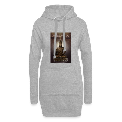 Peace from Within - Hoodie Dress