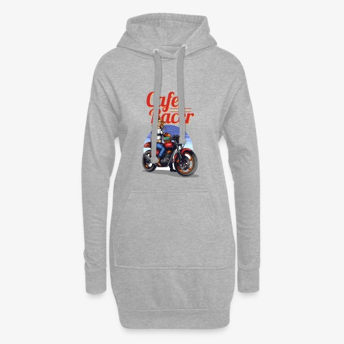 Cafe Racer - Sweat-shirt à capuche long Femme