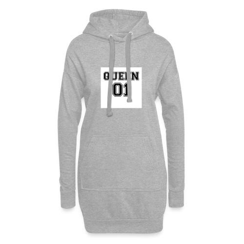 Queen 01 - Sweat-shirt à capuche long Femme