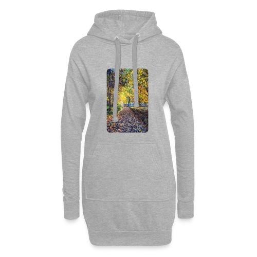 Autumn - Długa bluza z kapturem