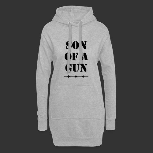 Son of a gun - Hoodie-Kleid