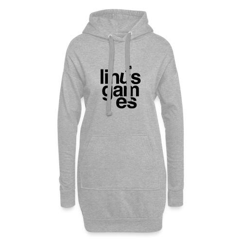 T-shirt donna Linus Games - Vestitino con cappuccio