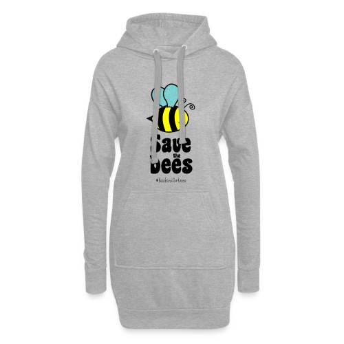 Bees9-1 save the bees | Bienen Blumen Schützen - Hoodie Dress