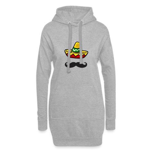 Fantôme mexicain - Sweat-shirt à capuche long Femme