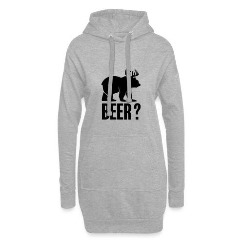 Beer - Sweat-shirt à capuche long Femme