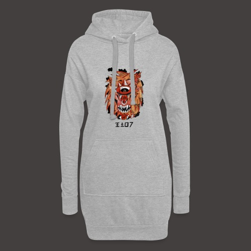 lion original - Sweat-shirt à capuche long Femme