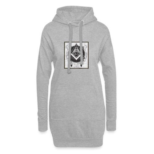 Illuminati - Sweat-shirt à capuche long Femme