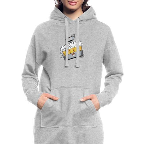Kölsche Sticker - Kranz.png - Hoodie-Kleid