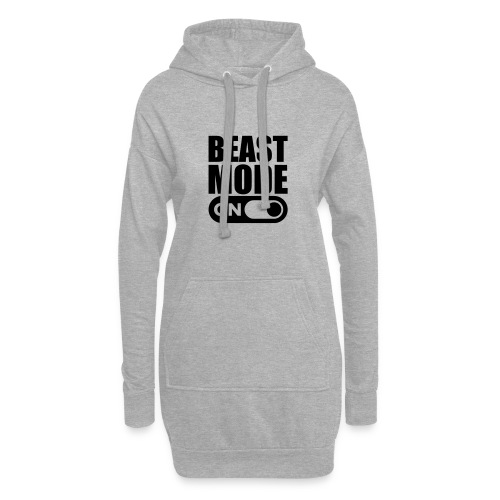 BEAST MODE ON - Hoodie Dress