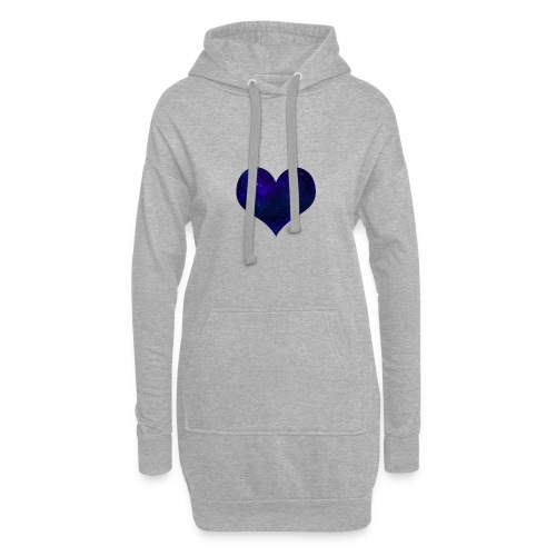 Love from outer space - Hoodie Dress