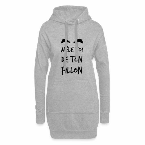 Mele_toi_de_ton_fillon_ - Sweat-shirt à capuche long Femme
