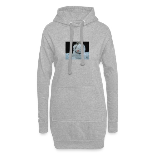 Snow Man - Hoodie Dress