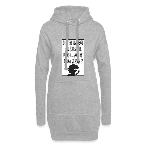 Single Woman - Hoodie-Kleid