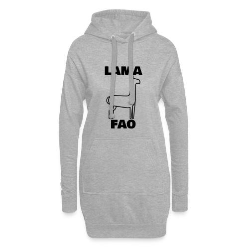 LaMaFAO - Hoodie-Kleid