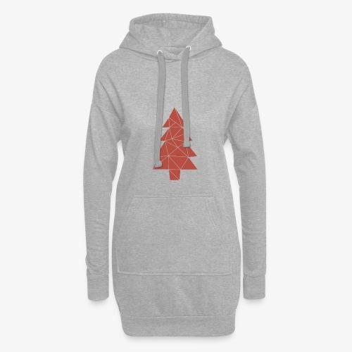 Tannenbaum Weihnachten - Hoodie-Kleid