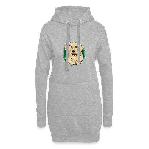 Hunde Portrait - Labrador Welpe - Hoodie-Kleid