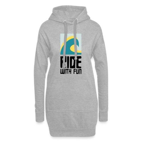 RWF Logo black - Hoodie-Kleid