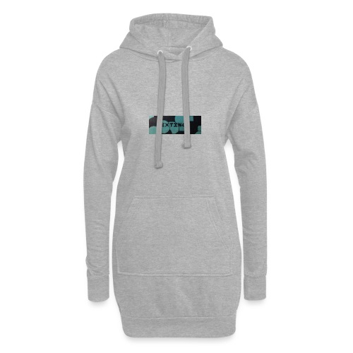 Extinct box logo - Hoodie Dress