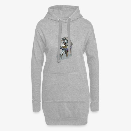 Shark's Fish and Chip dinner - Hoodie Dress