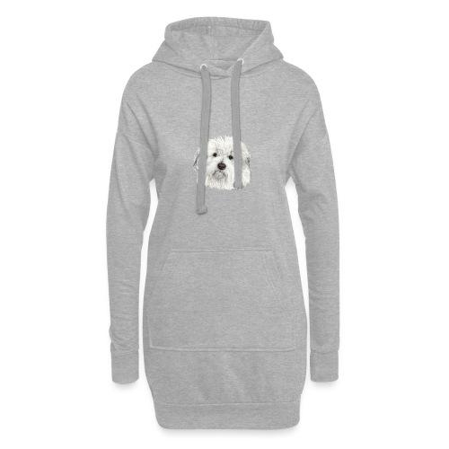 coton-de-tulear - Hoodie-kjole