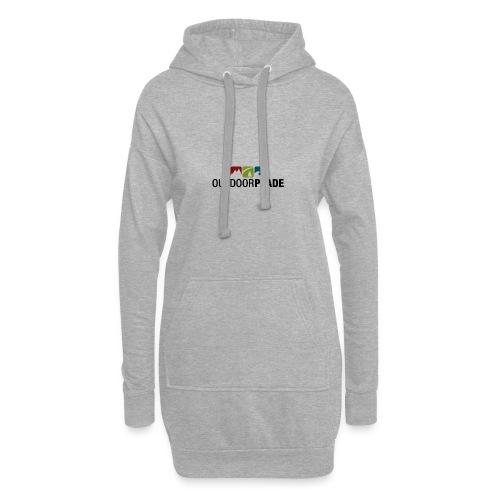 BergMensch#01m - Hoodie-Kleid