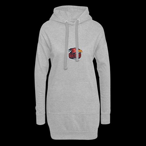 Sektion9 logo Rot - Hoodie-Kleid