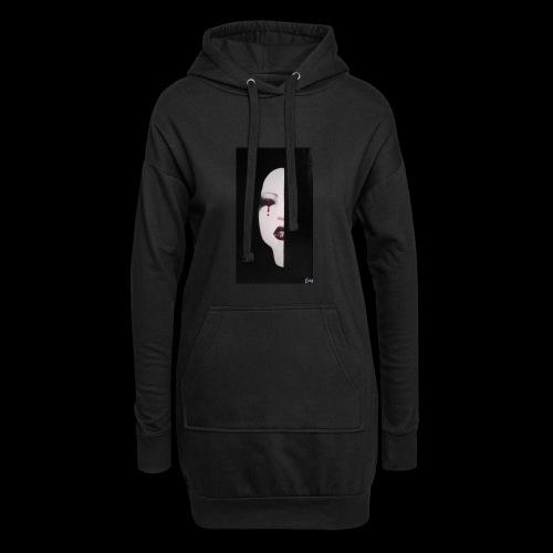 BlackWhitewoman - Vestitino con cappuccio
