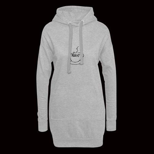 kave zeichnungbearbeitet 3 design ausgefüllt - Hoodie-Kleid