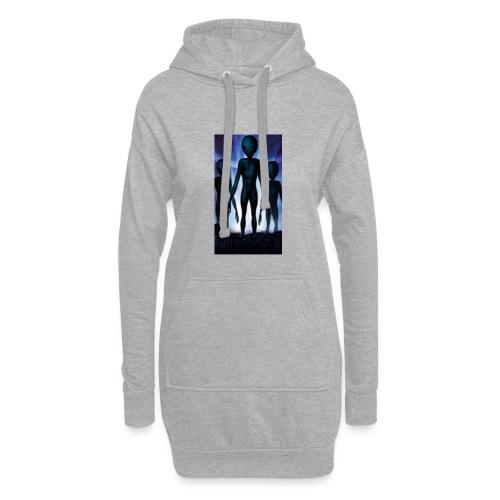 Alien 👽 - Hoodie-Kleid