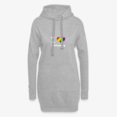 I love Schöneberg Rainbow - Hoodie-Kleid