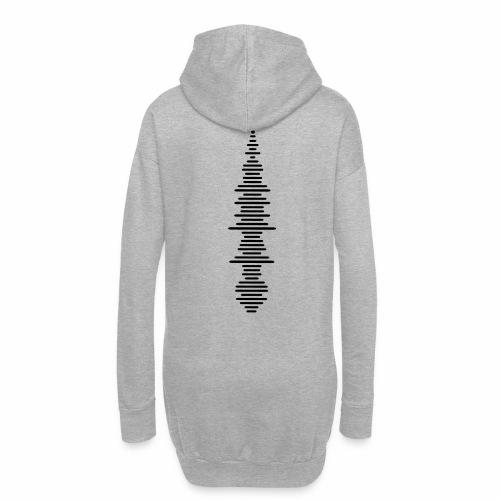 Soundwave - Hoodie-Kleid